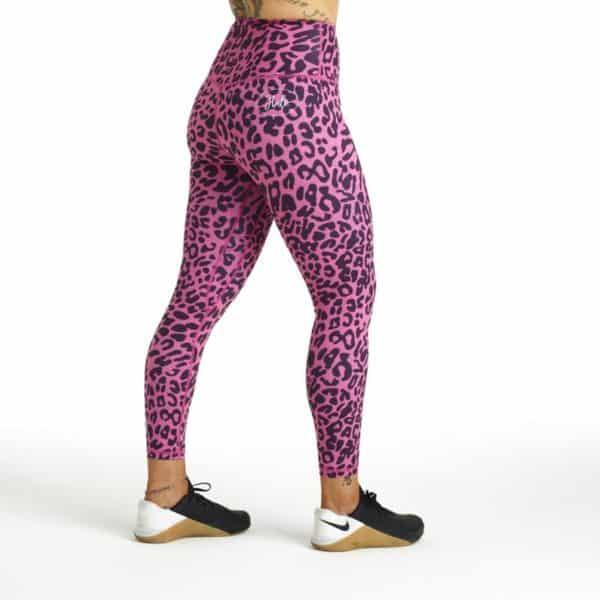 Halo Pink Leopard Leggings