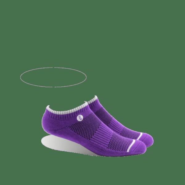 Halo ankle purple