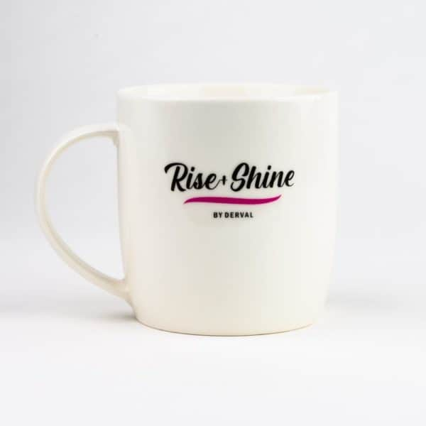 Rise Shine Mug Back